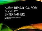 Aura Reading for Mystery Entertainers