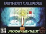 Birthday Calender by Unknown Mentalist
