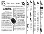 Magic Menu volume 2 (Sep 1991 - Aug 1992) by Jim Sisti