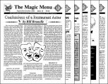 Magic Menu volume 4 (Sep 1993 - Aug 1994) by Jim Sisti