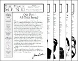 Magic Menu volume 7 (Sep 1996 - Aug 1997) by Jim Sisti