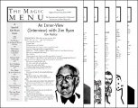 Magic Menu volume 8 (Sep 1997 - Aug 1998) by Jim Sisti