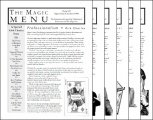 Magic Menu volume 9 by Jim Sisti
