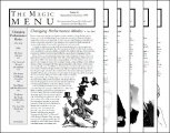 Magic Menu volume 10 (Sep 1999 - Aug 2000) by Jim Sisti