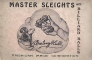 Master Sleights with Billiard Balls by Burling Hull