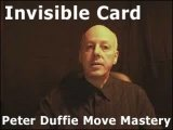 Invisible Card by Peter Duffie