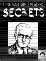 One Man Mind Reading Secrets by Ralph W. Read