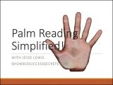 Palm Reading Simplified by Jesse Lewis