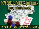 Powerful Poker Routines