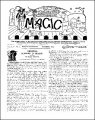 Stanyon's Magic Magazine Volume 14