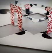 Card Sculptures by Ralf (Fairmagic) Rudolph