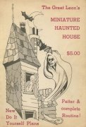 Miniature Haunted House by The Great Leon