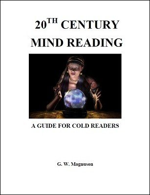 20th Century Mindreading by W. G. Magnuson