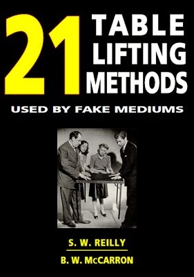 21 Table Lifting Methods by S. W. Reilly & B. W. McCarron