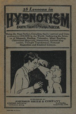 25 Lessons in Hypnotism by unknown