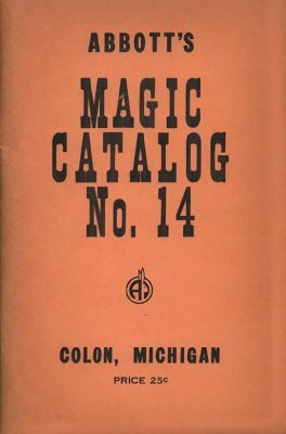 Abbott Magic Catalog #14 by Percy Abbott