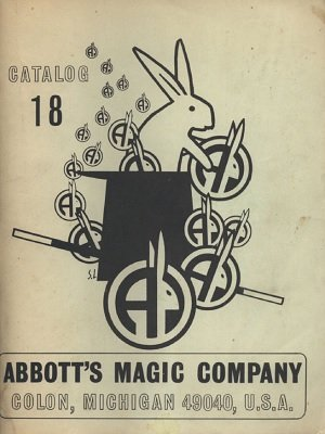Abbott Magic Catalog #18 1969 by Recil Bordner