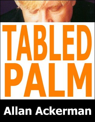 Tabled Palm by Allan Ackerman