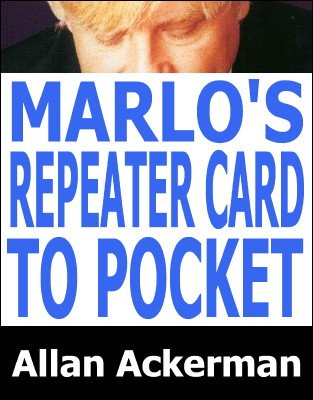 Marlo's Repeater Card to Pocket by Allan Ackerman
