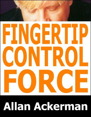 Fingertip Control Force by Allan Ackerman