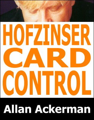 Hofzinser Card Control by Allan Ackerman