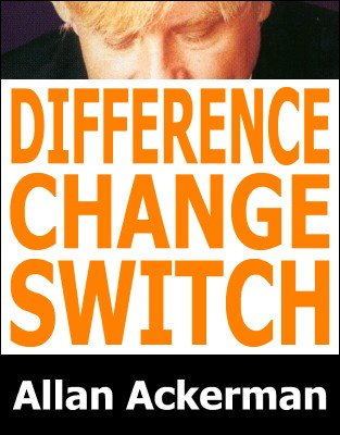 Difference Between a Change and a Switch by Allan Ackerman