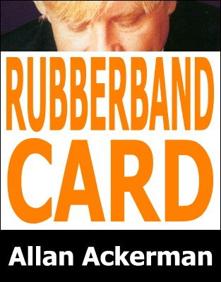 Rubberband Card by Allan Ackerman