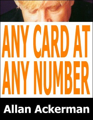 Any Card At Any Number by Allan Ackerman