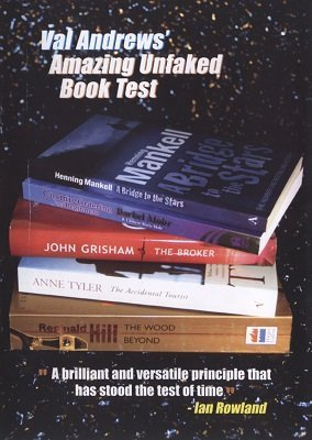 Amazing Unfaked Book Test (for resale) by Val Andrews