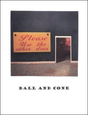 Ball and Cone by Brick Tilley