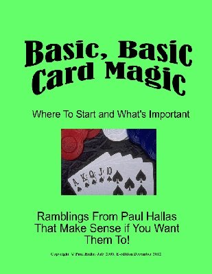 Basic, Basic Card Magic by Paul Hallas