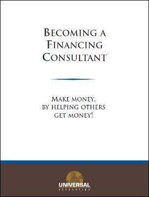 Becoming a Financing Consultant by Universal Accounting