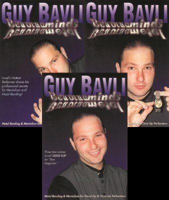 Bending Minds Bending Metal (all 3 volumes) by Guy Bavli