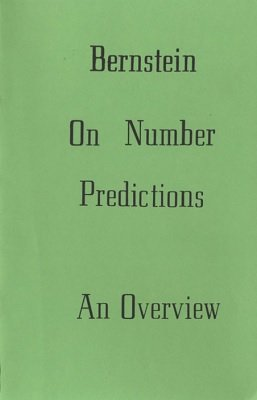 Bernstein on Number Predictions by Bruce Bernstein