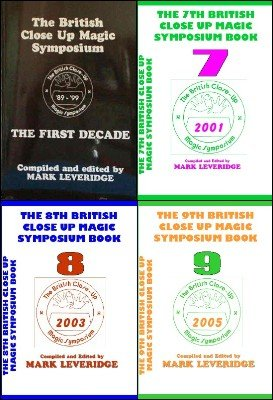 British Close-Up Magic Symposium: All nine Symposium books by Mark Leveridge