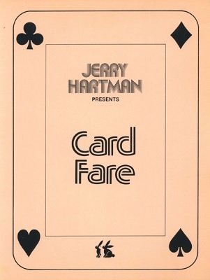Card Fare by (Jerry) J. K. Hartman