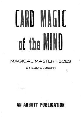 Card Magic of the Mind by Eddie Joseph