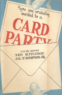 Card Party (used) by J. G. Thompson Jr. & Ned Rutledge