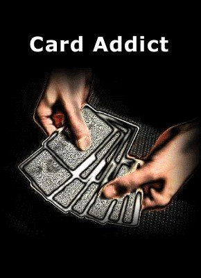 Card Addict by Peter Duffie