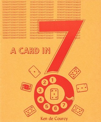 A Card In Seven by Ken de Courcy