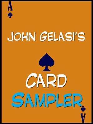Card Sampler by John Gelasi