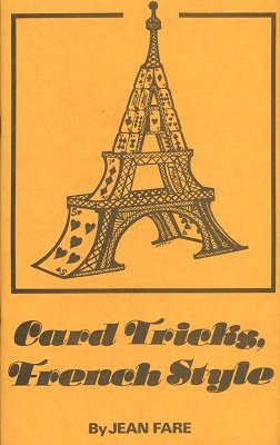 Card Tricks French Style by Jean Fare