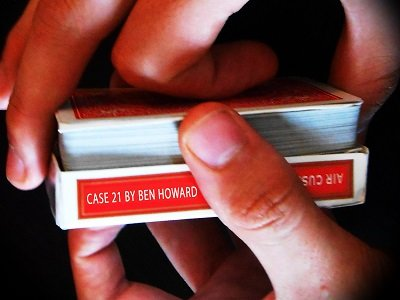Case 21: cards through case by Ben Howard