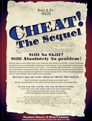 Cheat! The Sequel by Bob Farmer