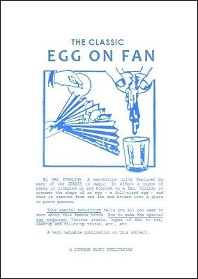 The Classic Egg on Fan by Edwin Hooper