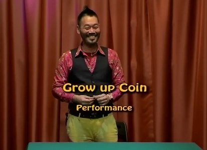 Grow Up Coin by Akira Fuji