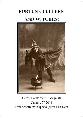 Coffee Break Mental Magic #4: Fortune Tellers and Witches by Paul Voodini