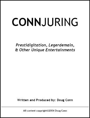 Conn-juring by Doug Conn