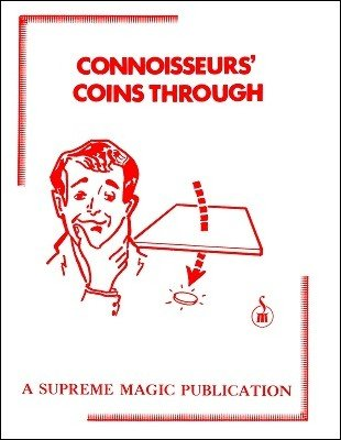 Connoisseurs' Coins Through by Supreme-Magic-Company