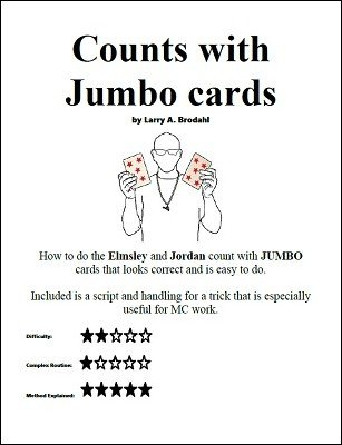 Counts with Jumbo Cards by Larry Brodahl